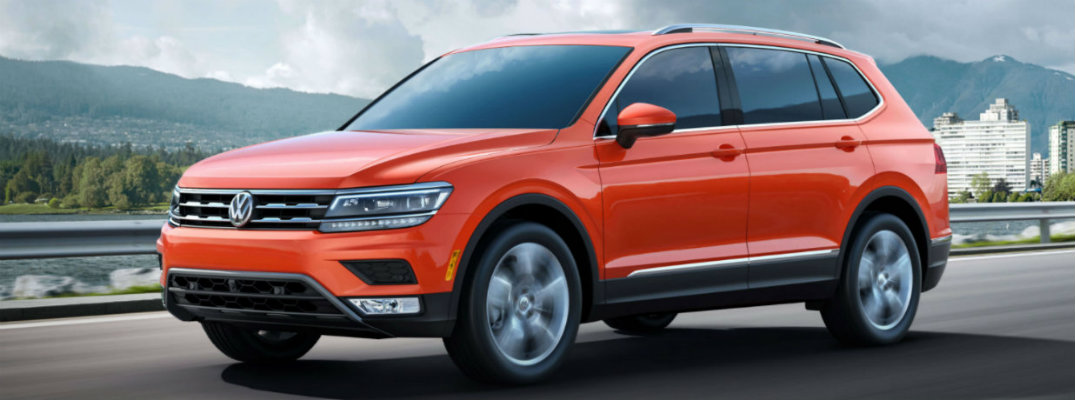 2018 Volkswagen Tiguan pricing and trim level comparison