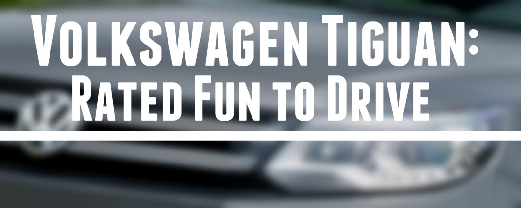 volkswagen tiguan was rated the most fun to drive suvs. Black Bedroom Furniture Sets. Home Design Ideas