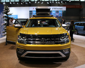 2018 Volkswagen Atlas Weekend Edition Added Accessories and Features