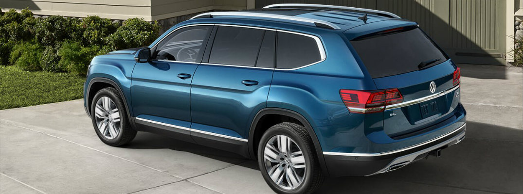 How much room for people is there in the 2018 VW Atlas?