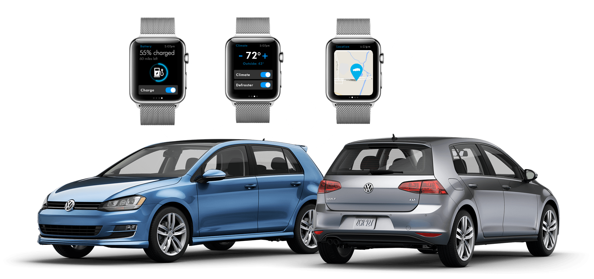 will vw car net work with the apple watch. Black Bedroom Furniture Sets. Home Design Ideas