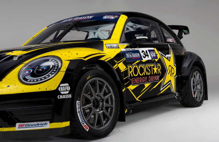 2016 Global Rallycross Tanner Foust Amp Vw Beetle Grc Wins