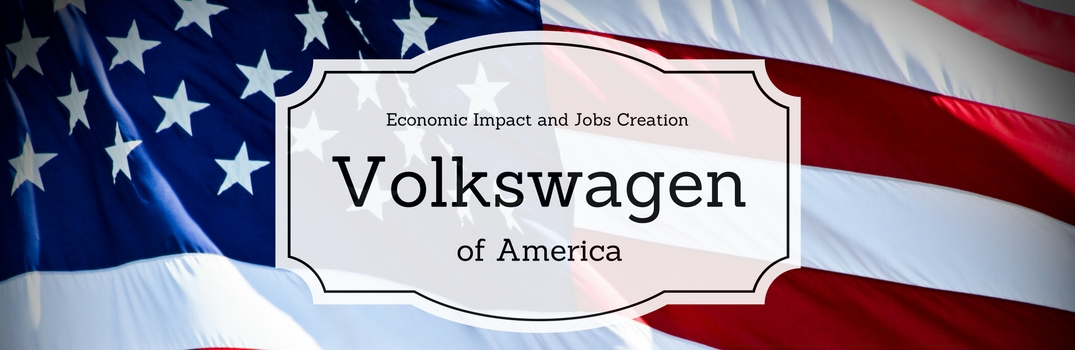 How does Volkswagen help the U.S. economy and job market?