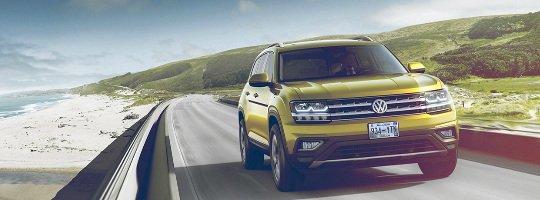 Safety Features on the 2018 Volkswagen Atlas Driving
