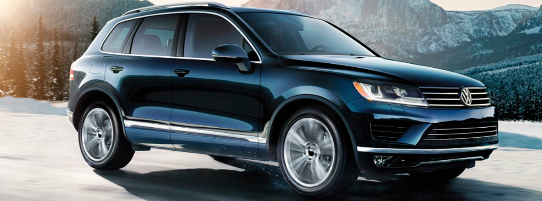 Performance and Technology of the 2017 Volkswagen Touareg Exterior