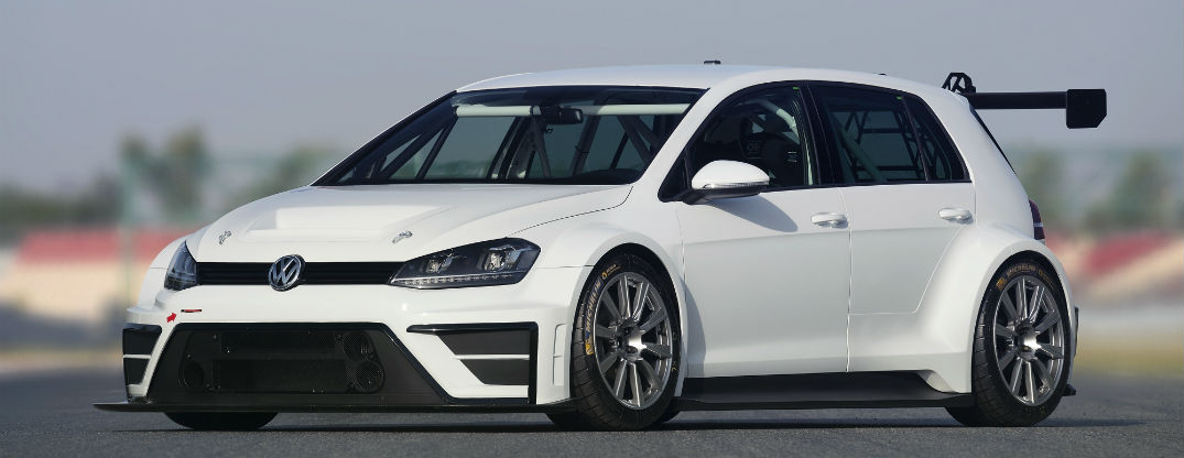 Volkswagen Develops Golf Race Car Concept