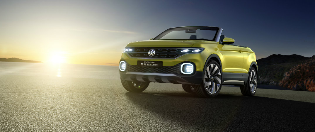 Volkswagen convertible SUV has Beats by Dre