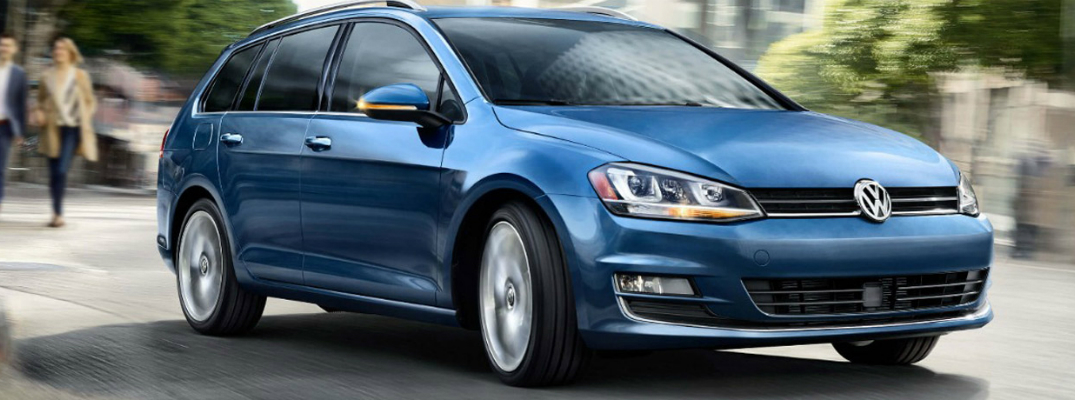 Safety and Technology Features of the 2017 Golf Sportwagen Exterior