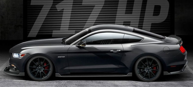 The Hennessey Supercharged Mustang