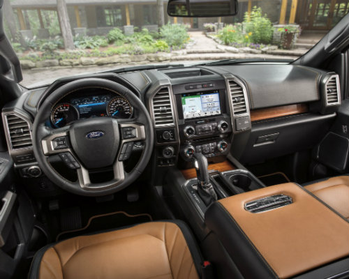 Ford F-150 Interior with SYNC 3