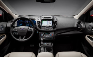 2017 Ford Escape display