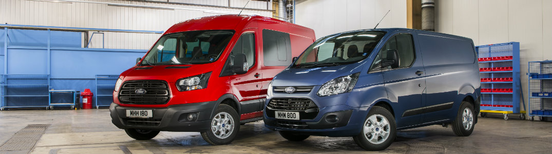 ford transit lineup