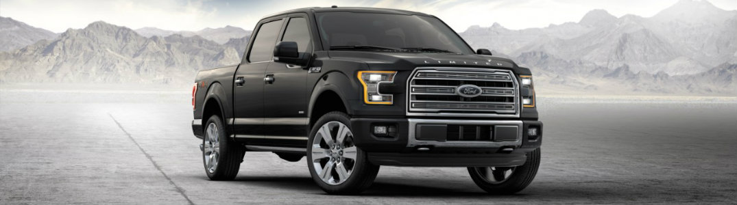 Ford F-150 black front