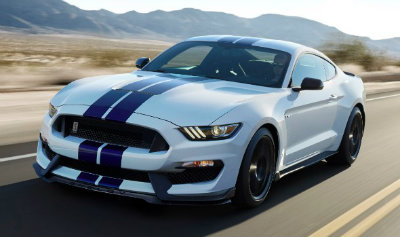 2016 Ford Shelby Mustang GT350 white