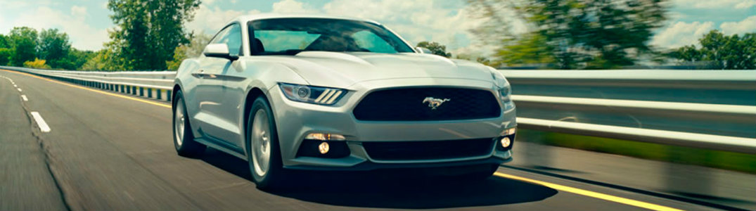 2017 Ford Mustang front