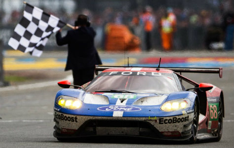 Ford GT racecar front