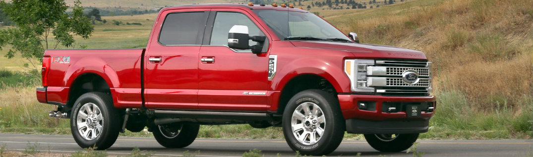 2017 Ford Super Duty side