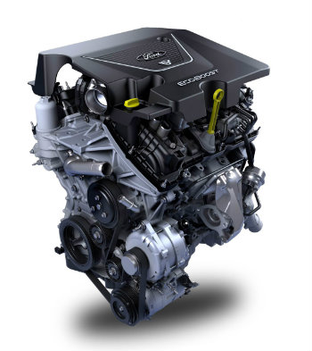 2017 Ford Fusion Sport engine