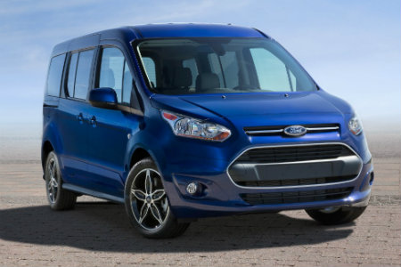 2017 Ford Transit blue
