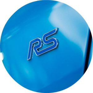 2017 Ford Focus RS badge