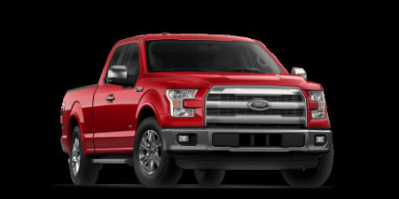 2017 Ford F-150 Race Red