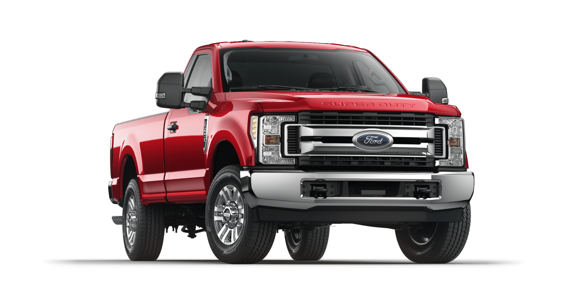 2017 Ford Super Duty Race Red