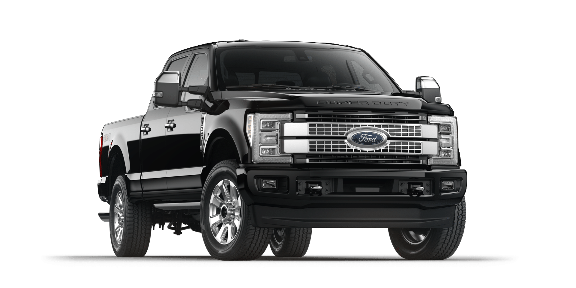 2017 Ford Super Duty Shadow Black