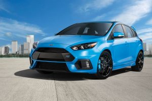 2017 Ford Focus RS front side exterior_o