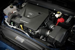 2017 Ford Fusion V6 Sport engine_o