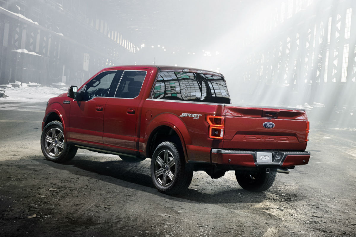 2018 Ford F-150 rear side exterior_o