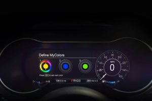 2018 Ford Mustang front interior instument cluster_o
