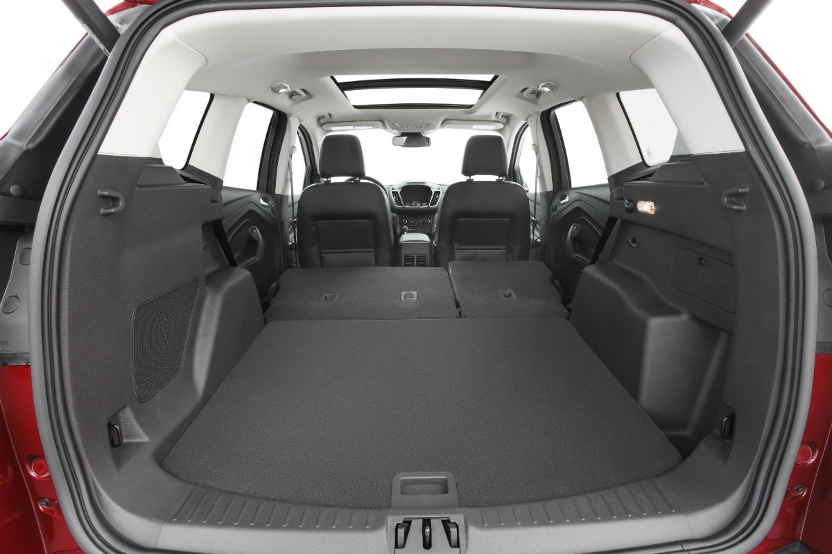 2017 ford escape rear interior cargo space_o - Ford Explorer 2015 Trunk Space