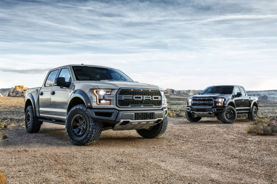 2017 Ford F 150 And Raptor Exteriors O