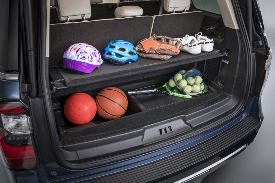 2018 Ford Expedition Passenger And Cargo Space