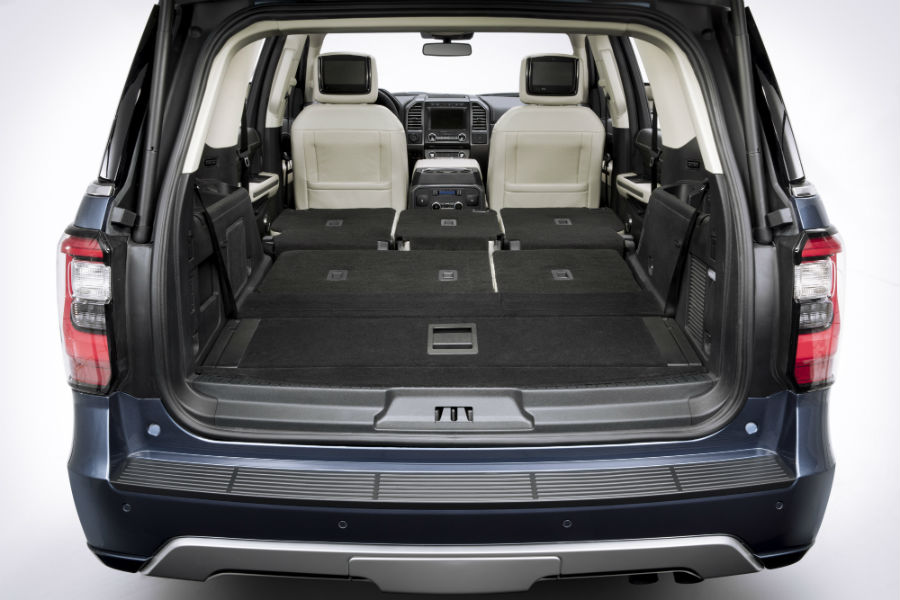 Ford Expedition Rear Interior Cargo Space_o