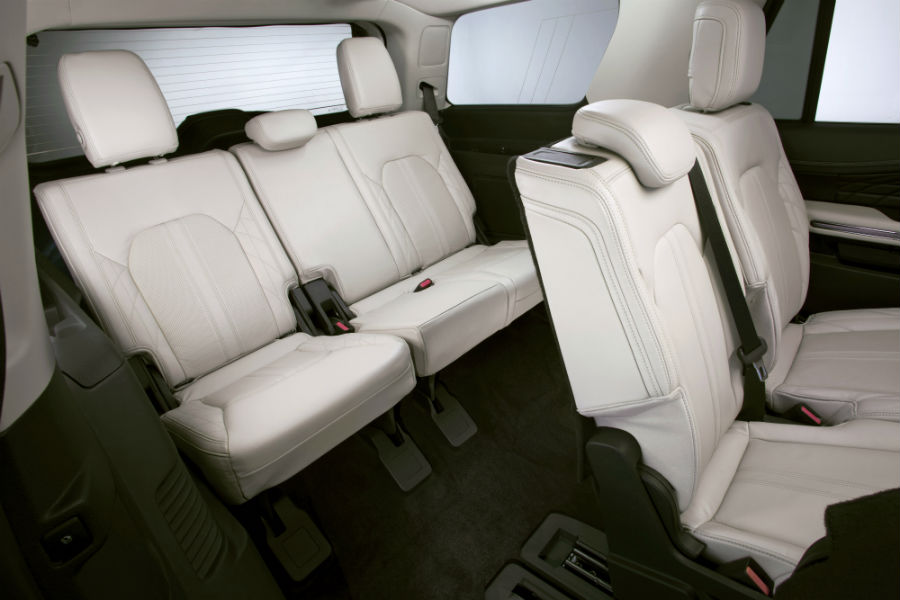 Ford Expedition Rear Interior Passenger Space_o