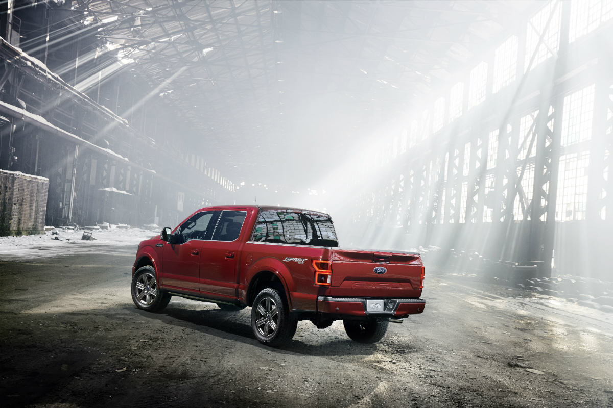 2018 ford f 150 diesel powertrain features