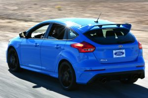 2017 Ford Focus RS rear side exterior_o
