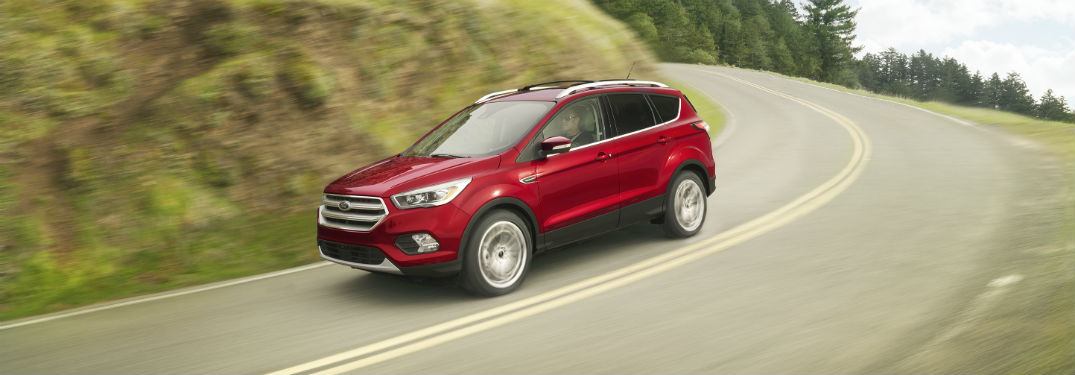 2018 Ford Escape front side exterior