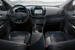 2018 Ford Escape front interior driver dash and infotainment system_o