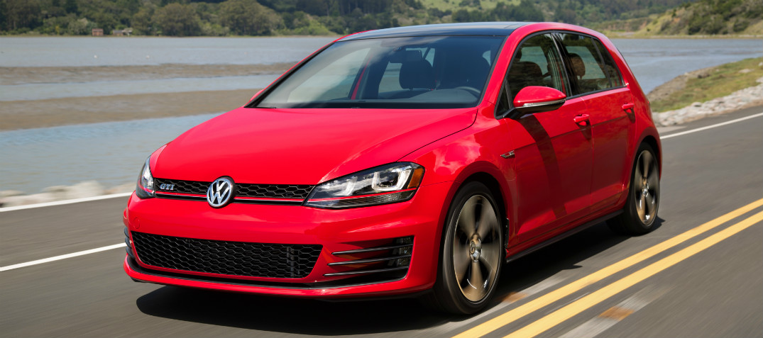 What is the release date of the 2017 Volkswagen Golf GTI