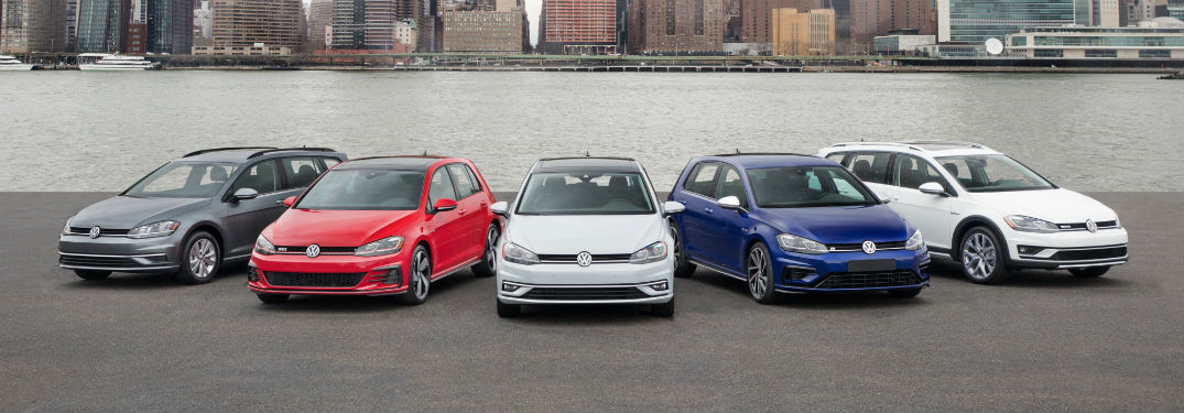 2018 Volkswagen Golf Performance and Technology