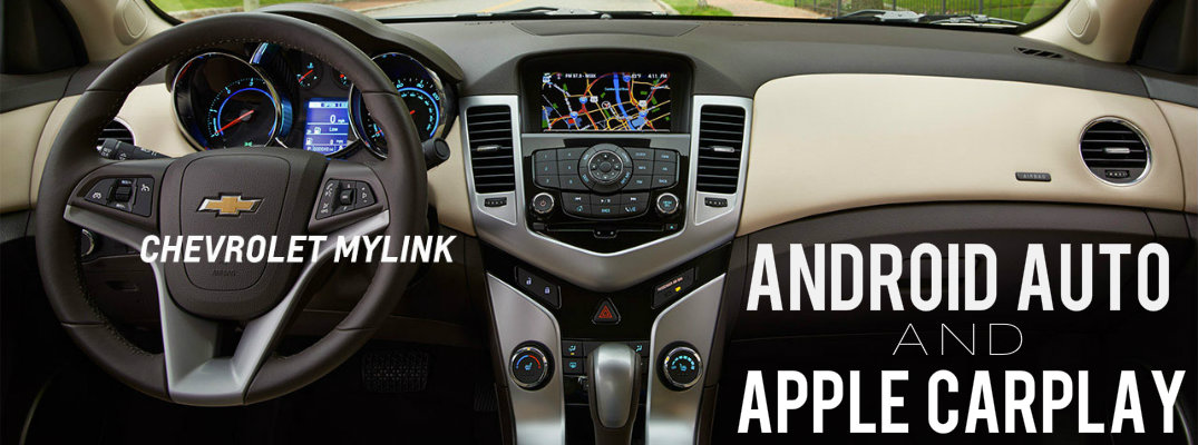 Chevy Android Auto and Apple CarPlay car smartphone technology
