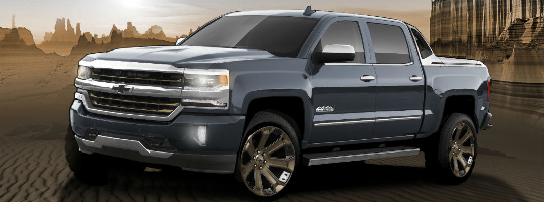 2017 Chevrolet Silverado 1500 High Desert Package Features
