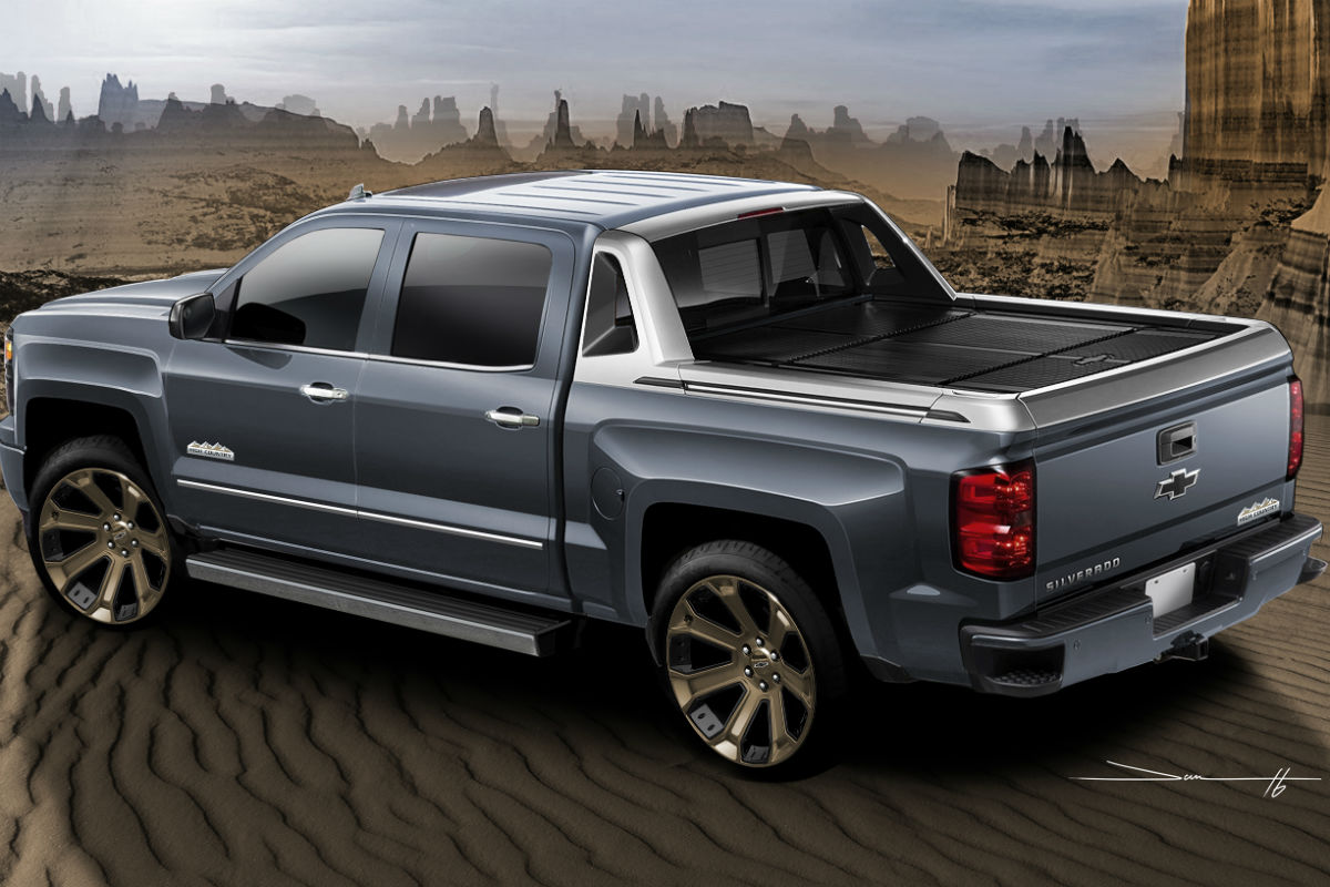 2017 chevrolet silverado 1500 high desert package features. Black Bedroom Furniture Sets. Home Design Ideas