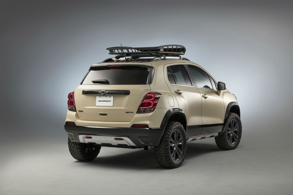 2017 Chevrolet Trax Activ New Off Road Features