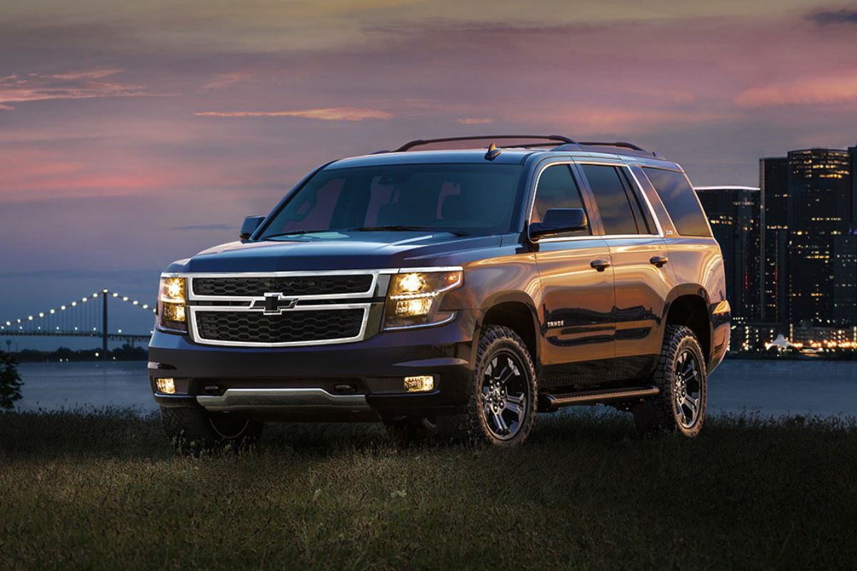 2017 chevrolet tahoe new interior features. Black Bedroom Furniture Sets. Home Design Ideas