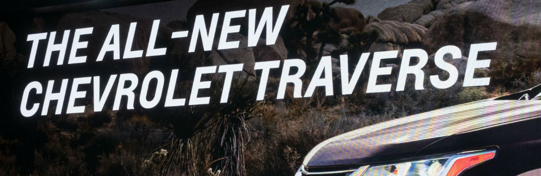 2018 Chevrolet Traverse New Trim Level Features_o