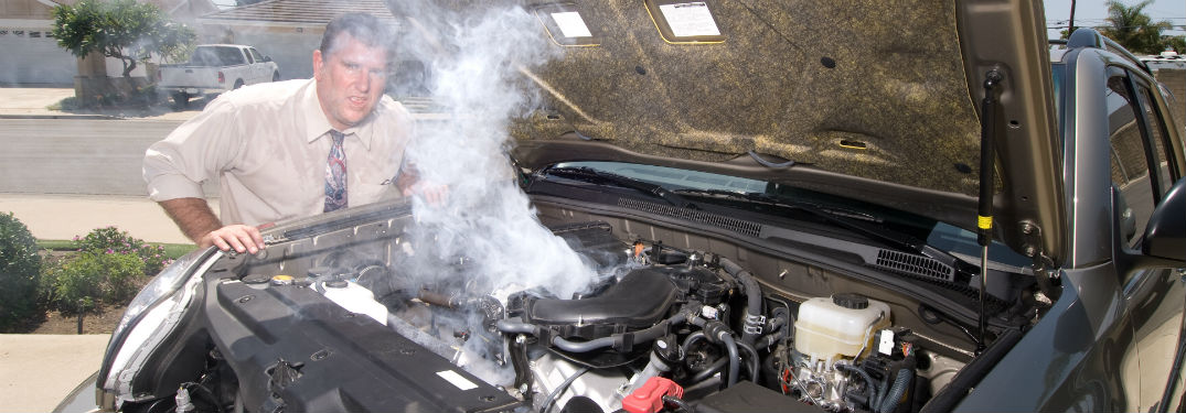 how to know engine overheating