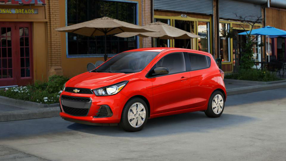 2017 Chevrolet Spark Exterior Color Options Gallery